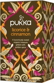 Licorice & Cinnamon Te Pukka
